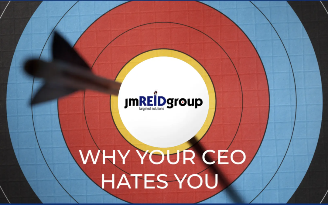 Why Your CEO Hates You